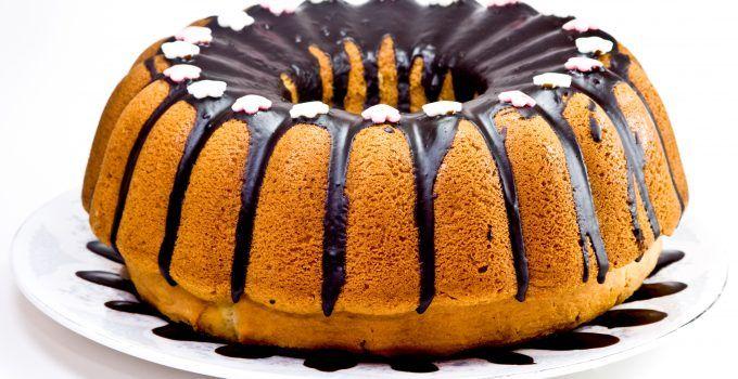 Bolo de Aniversário Chocolate Preto